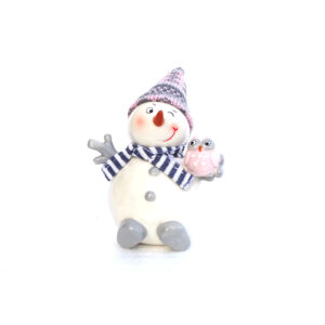 Cheeky Snowman Pink