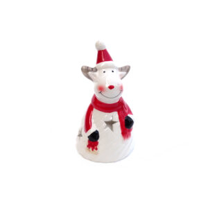 T-Light Ceramic Reindeer