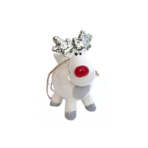 Hanging Christmas Tree Reindeer Decoration