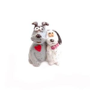Ceramic Dog & Cat