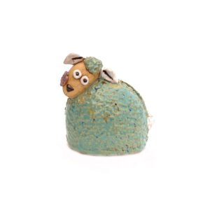 Ceramic Sheep Money Box – Green