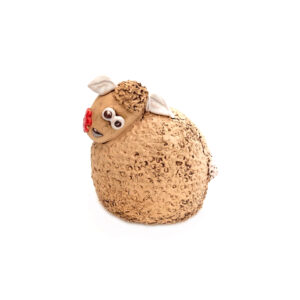 Ceramic Sheep Money Box – Stone
