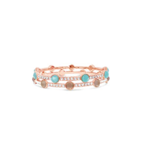 Rose Gold Bangle BA168TQ