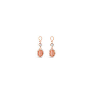 Rose Gold Earrings E1118RS