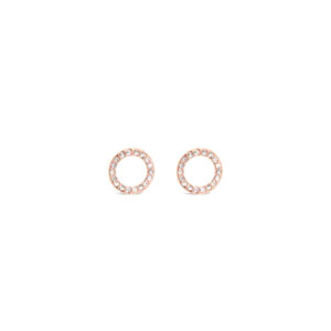 Rose Gold Earrings E1189RS