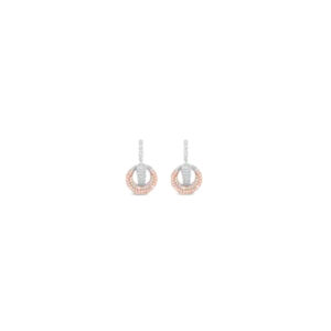 Rose Gold Earrings E2058MX