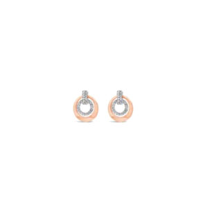 Rose Gold Earrings E2079MX