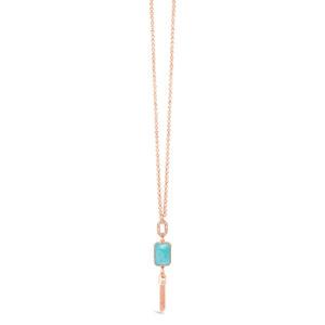 Rose Gold Necklace N1081TQ