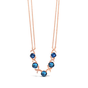 Rose Gold Necklace N1088SP