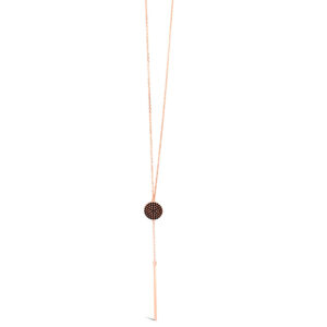 Rose Gold Necklace N1158BK