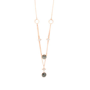 Rose Gold Necklace N2021BK