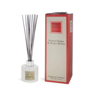 Brooke & Shoals – Home Fragrance Diffuser – Frosted Ginger & Winter Berries