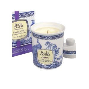 Julie Clarke Lavender & Garden Angelica Candle