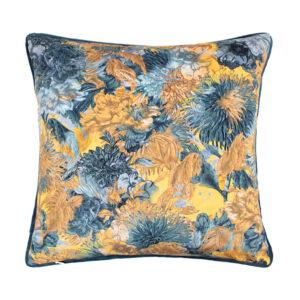 Scatter Box Miravel 45x45cm Cushion Blue/Ochre