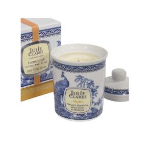 Julie Clarke Orange Blossom, Wild Lime & Verbena Candle