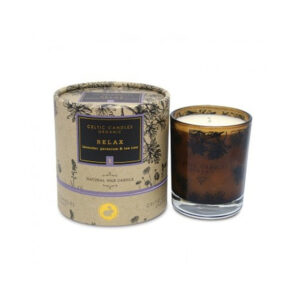 Celtic Candles – Organic Range – Relax Candle