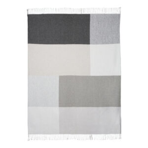 Scatter Box Riley Throw 127x178cm Grey