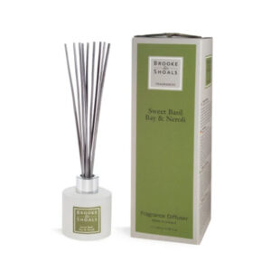 Brooke & Shoals – Home Fragrance Diffuser – Sweet Basil, Bay & Neroli