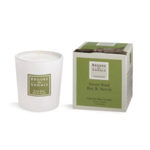 Brooke & Shoals – Sweet Basil, Bay & Neroli Candle