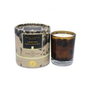 Celtic Candles – Organic Range – Unwind Candle